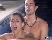 Julia Roca y su noche de sexo intenso en la piscina
